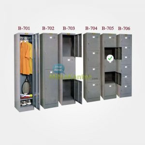 LOCKER BESI BROTHER 5 PINTU B 705