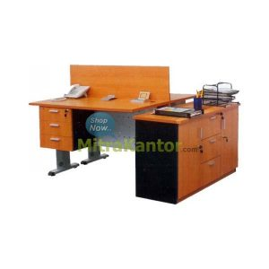 Jual Meja Kantor Staff Dino Bristol - Office Furniture