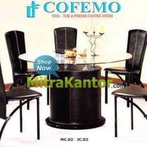Jual Meja Makan Murah, Meja Makan Cofemo JC02 MC02 Minimalis